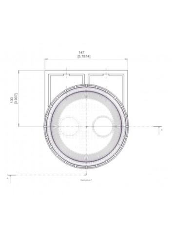 - Filtr wody zaburtowej 19/25 mm -