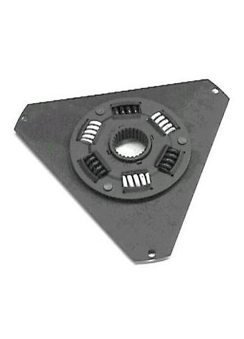 Tarcza sprzęgła 253 mm średnicy z metalowymi sprężynami